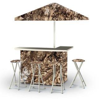 Best of Times Camoflauge Portable Deluxe Bar