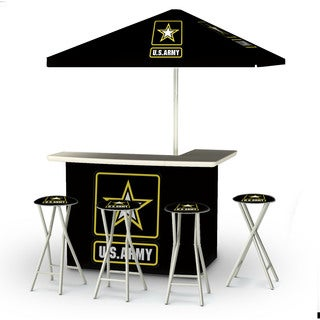 Best of Times Military Portable Deluxe Bar
