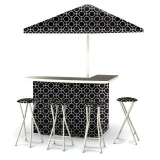 Best of Times Lewis Lattice Portable Deluxe Bar