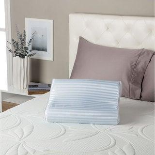 Shop Sealy Memory Foam Contour Pillow White On Sale