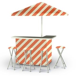 Best of Times Candy Striper Portable Deluxe Bar