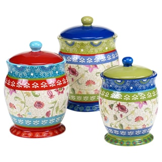 Certified International Anabelle 3 pc Canister Set