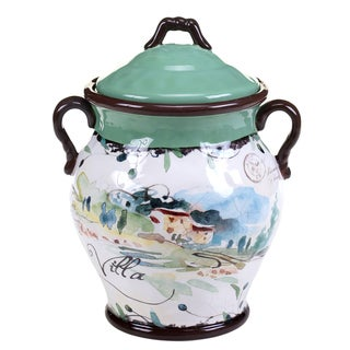 Certified International Villa Biscotti Jar 10.5""