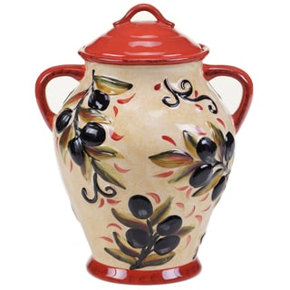 Certified International Umbria Biscotti Jar 10.75""