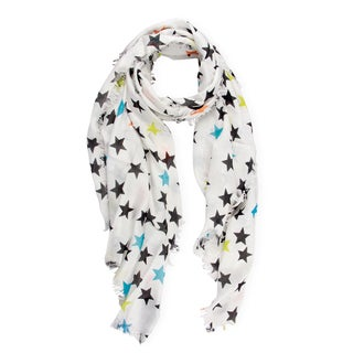 Saachi Women's Stars Printed Scarf (India)