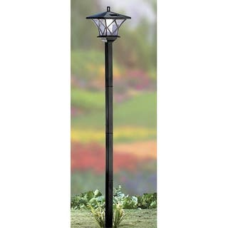 Solar lighting for less overstock sb modern home solar led street lamp post aloadofball Image collections