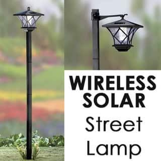 SB Modern Home Solar LED Street Lamp Post