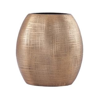 Dimond Home Kolkata 7-inch Vase in Gold