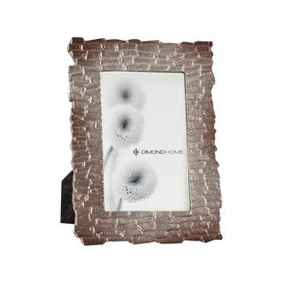 Dimond Home Merrimack 5x7 Photo Frame in Distressed Nickel