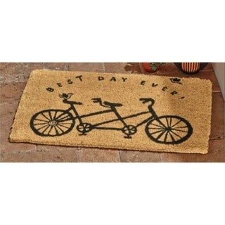 TAG Best Day Ever Coir Mat