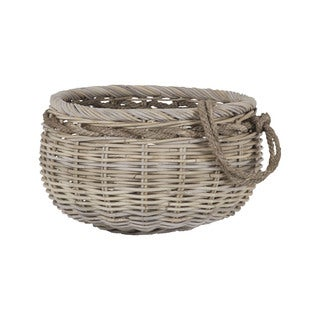 Dimond Home Sumbawa Natural Rattan Basket - Small