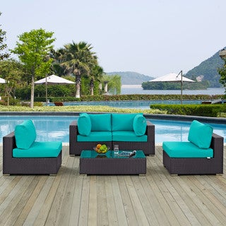 Gather 5-piece Outdoor Patio Sectional Set