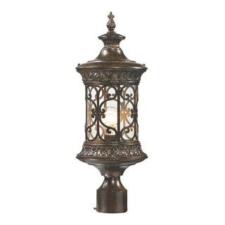 Elk Orlean Hazelnut Bronze 1-light Outdoor Post Lamp