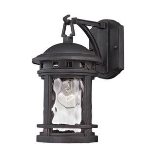 Elk Costa Mesa Weather Charcoal 1-light Outdoor Wall Lantern