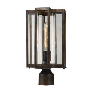 Elk Bianca Hazelnut Bronze 1-light Outdoor Post Lantern
