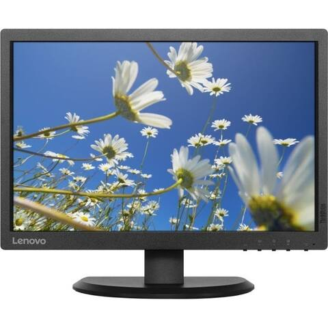 "Lenovo ThinkVision E2054 19.5"" WXGA+ LED LCD Monitor - 16:10 - Black"