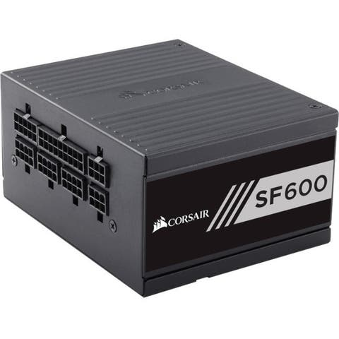 Corsair SF Series SF600 - 600 Watt 80 Plus Gold Certified High Performance SFX PSU