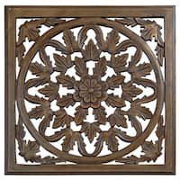 12-inch Brown Solaris Six Wooden Wall Panel