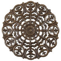 12-inch Light Brown Solaris Five Wooden Wall Panel