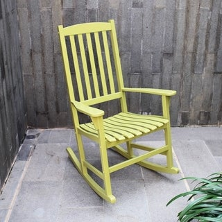 Cambridge Casual Alston Porch Rocking Chair - Green