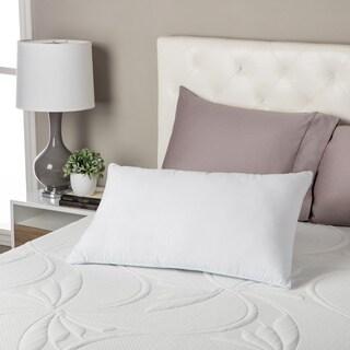 Comforpedic Loft from Beautyrest Reversible Fiber and Gel Memory Foam Pillow