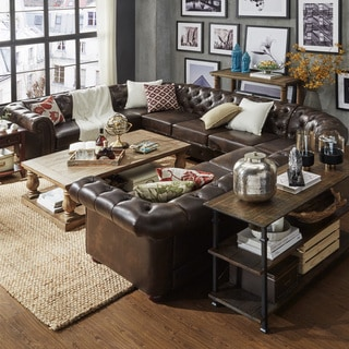 Brown Sectional Sofas Shop The Best Deals For Feb 2017