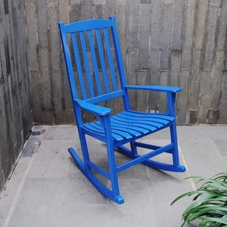 Alston Blue Porch Rocker