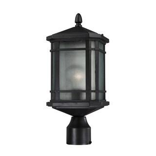 Elk Lowell Hazelnut Bronze 1-light Outdoor Post Lantern