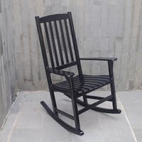 Cambridge Casual Alston Porch Rocking Chair - Black