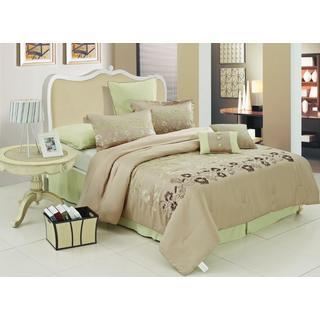 Verde Floral 8-piece Comforter Set