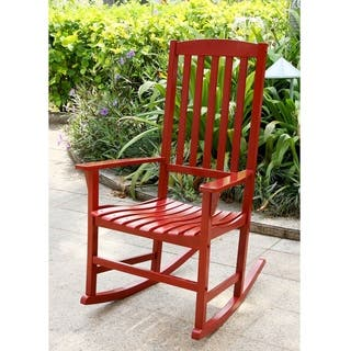 Rocking Chairs Red Patio Furniture Find Great Outdoor Seating