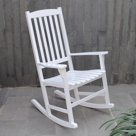 Cambridge Casual Alston Porch Rocking Chair - White