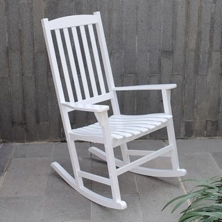Alston White Porch Rocker