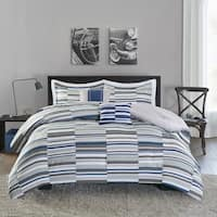 Intelligent Design Wyatt Blue Comforter Set