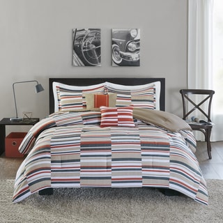Intelligent Design Wyatt Olive Comforter Set