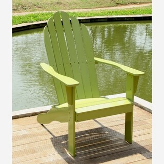 Cambridge Casual Alston Adirondack Chair   Green