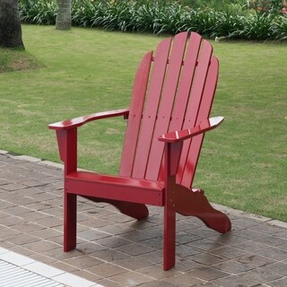 Cambridge Casual Alston Adirondack Chair - Red