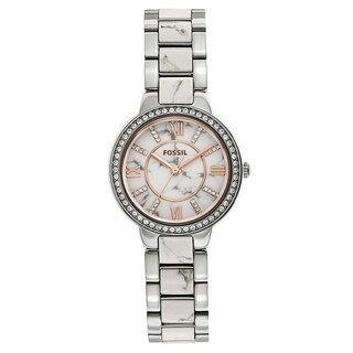Fossil Women's Virginia Two-Tone Stainless Steel Bracelet Watch