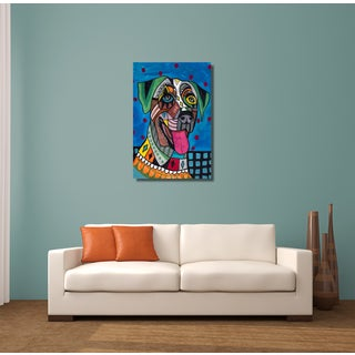Heather Galler 'Catahoula' Dog Gallery-wrapped Canvas Wall Art