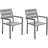 Galvanized Steel Patio Dining Chairs