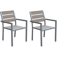 GloDea Patio Dining Chairs