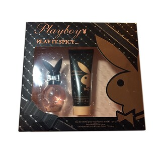 Playboy Play It Spicy Women's 2-piece Gift Set