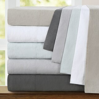 Echelon Home Washed Belgian Linen Pillowcases (Set of 2)