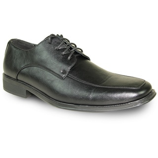 BRAVO Men Dress Shoe MILANO-2 Oxford Black