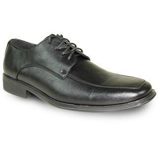 BRAVO Men Dress Shoe MILANO-2 Oxford Black