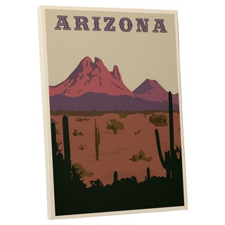 Steve Thomas 'Arizona' Gallery Wrapped Canvas Wall Art