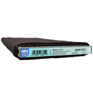 Pellon 806 Stitch-N-Tear Board Black