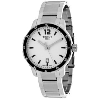 Tissot Men's T0954101103700 Quickster Round Silver-tone Stainless Steel Bracelet Watch