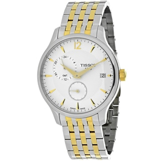 Tissot Men's T0636392203700 Tradition Round Two-tone Stainless Steel Bracelet Watch