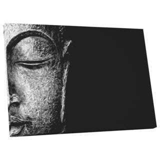 Who Art Now 'Budda Visage' Gallery Wrapped Canvas Wall Art